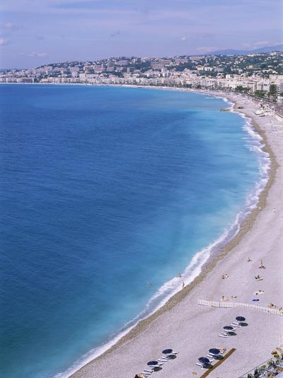 Baie Des Anges, Nice, Alpes Maritimes, Cote d'Azur, French Riviera, Provence, France-Guy Thouvenin-Photographic Print