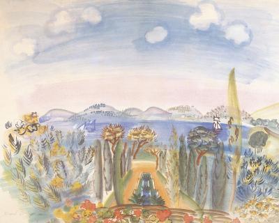 Baie des Anges, Nice-Raoul Dufy-Giclee Print