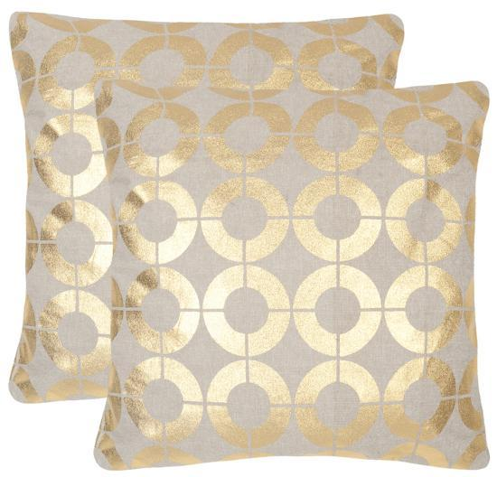 Bailey Pillow Pair - Gold--Home Accessories