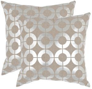 Bailey Pillow Pair - Silver