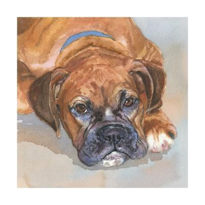 Baillie Boxer-Edie Fagan-Art Print