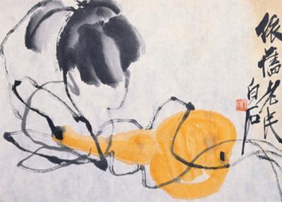 Gourd by Baishi Qi