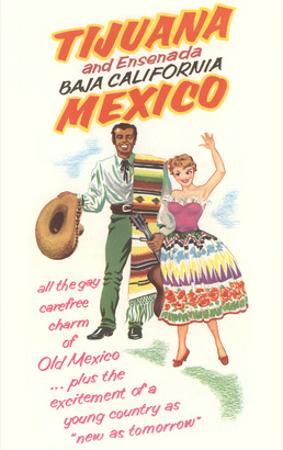 Baja California Travel Poster