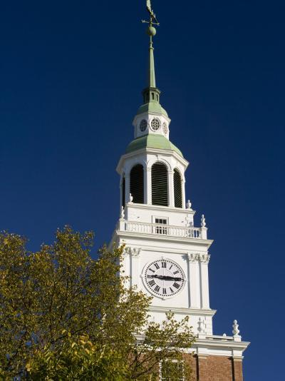 Baker Hall on the Dartmouth College Green in Hanover, New Hampshire, USA-Jerry & Marcy Monkman-Photographic Print