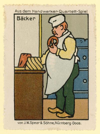 Baker--Giclee Print