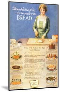 Bakers Bread, USA, 1910