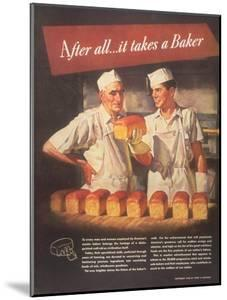 Bakers Bread, USA, 1940
