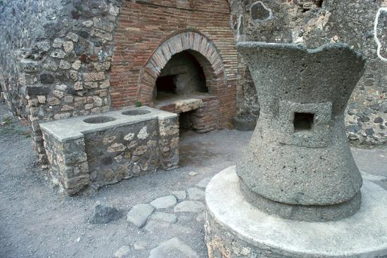 Bakery in Pompeii, 1st century-Unknown-Photographic Print