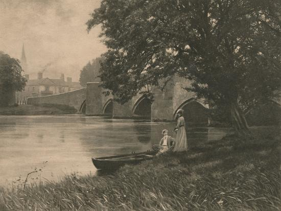 'Bakewell Bride', 1902-Unknown-Photographic Print