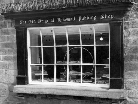 Bakewell Pudding Shop-J. Chettlburgh-Photographic Print