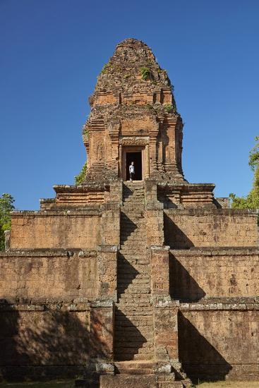 Baksei Chamkrong Temple, Angkor World Heritage Site, Siem Reap, Cambodia-David Wall-Photographic Print