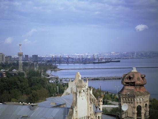 Baku, Azerbaijan, Central Asia-Olivieri Oliviero-Photographic Print