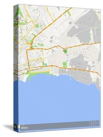 Baku, Azerbaijan Map
