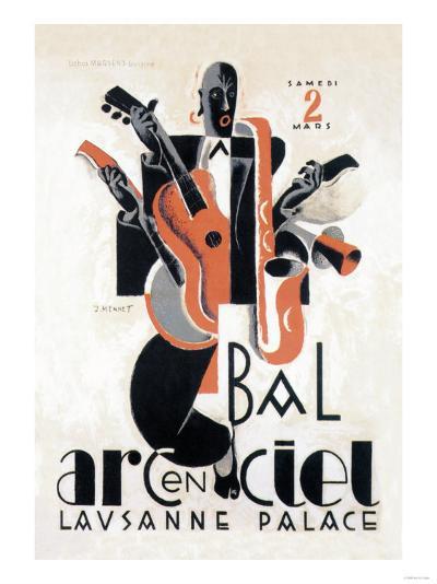 Bal Arcenciel--Art Print