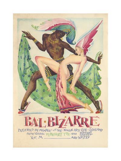 Bal Bizarre Poster--Giclee Print