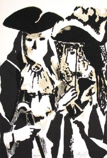 Bal masqu?-Manolo Ruiz Pipo-Limited Edition