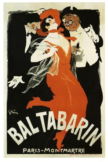 Bal Tabarin 1904--Giclee Print