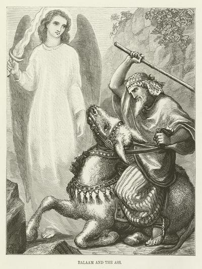 Balaam and the Ass--Giclee Print