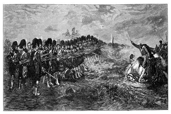 Balaclava, the Thin Red Line, 1881-Robert Gibb-Giclee Print