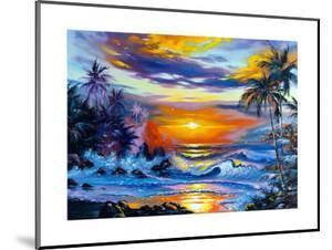 Beautiful Sea Evening Landscape by balaikin2009