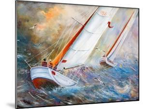 Sea Regatta At A Gale by balaikin2009
