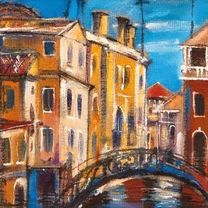 The Bridge From Ancient Venice by balaikin2009