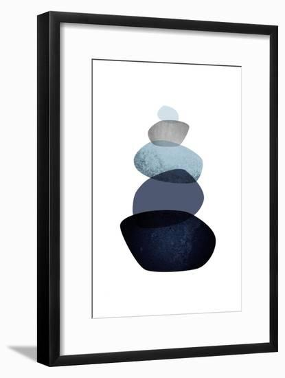 Balance-Urban Epiphany-Framed Art Print