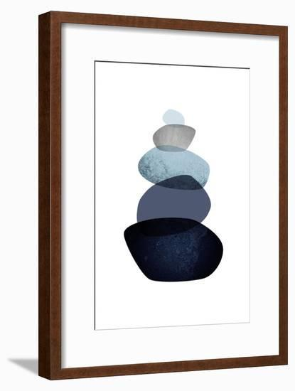 Balance-Urban Epiphany-Framed Art Print