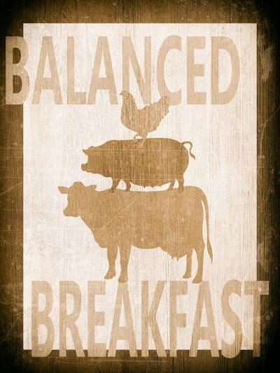 Balanced Breakfast Two-Alicia Soave-Art Print