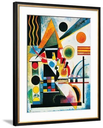 Balancement-Wassily Kandinsky-Framed Art Print