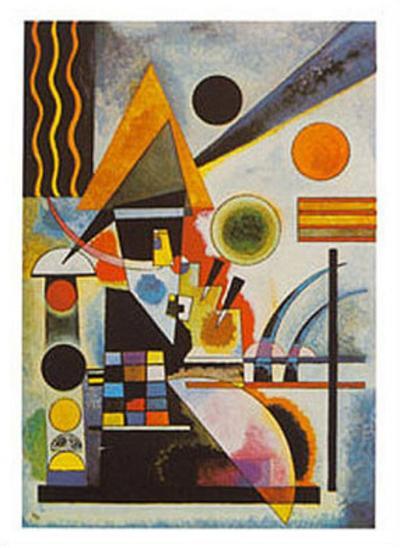 Balancement-Wassily Kandinsky-Art Print
