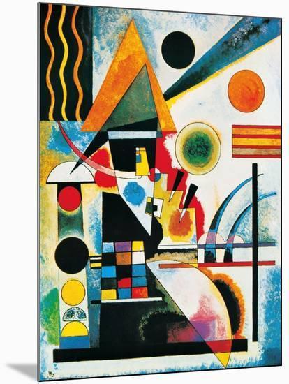 Balancement-Wassily Kandinsky-Mounted Print