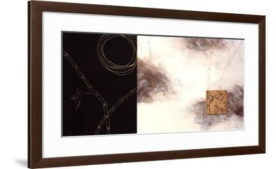 Balancing Bamboo I-Arleigh Wood-Framed Art Print