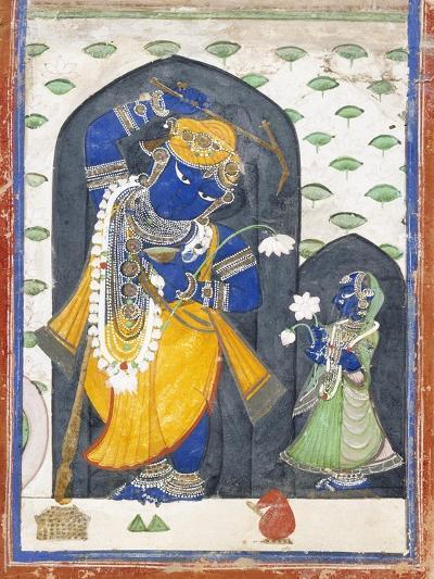 Balarama with Consort--Art Print