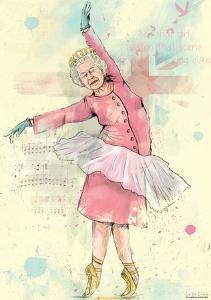 Dancing Queen Poster by Balas Solti