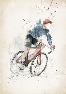I Want to Ride My Bicycle by Balazs Solti