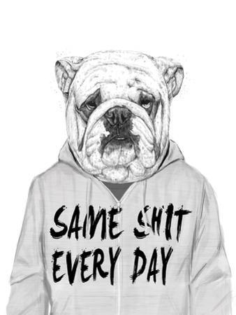 Same Shit Everyday by Balazs Solti