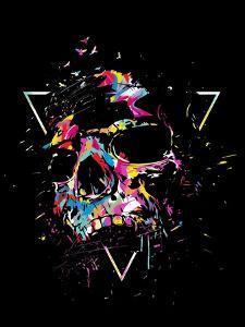 Skull X (color) by Balazs Solti