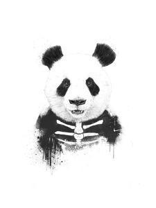 Zombie Panda by Balazs Solti