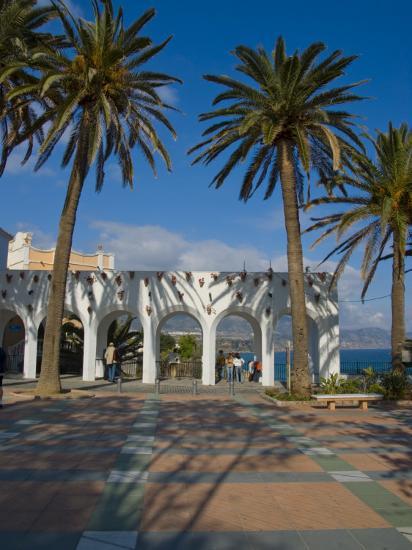 Balcon De Europa, Nerja, Costa Del Sol, Andalucia, Spain, Europe-Charles Bowman-Photographic Print