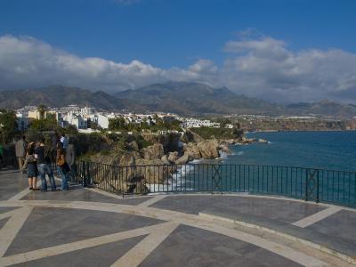 Balcon De Europa, Nerja, Costa Del Sol, Andalucia, Spain, Mediterranean, Europe-Charles Bowman-Photographic Print