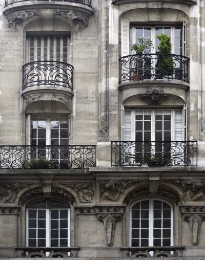 Balcon Parisien I-Tony Koukos-Art Print