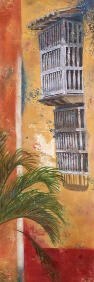 Balcones De Cartagena I-Patricia Pinto-Art Print