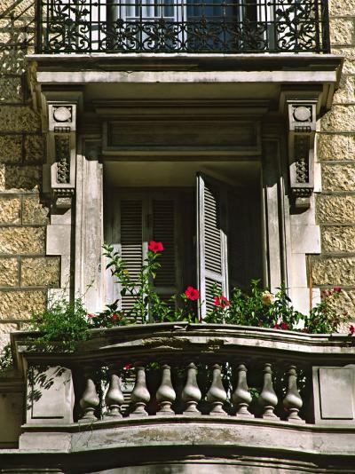 Balcony, Nice, France-Charles Sleicher-Photographic Print