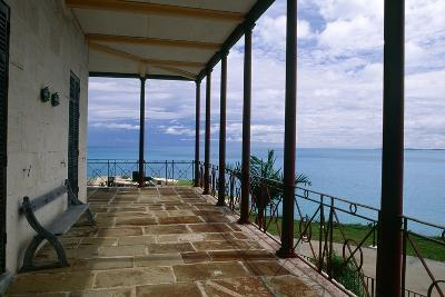 Balcony View, Commissioner House, Bermuda-George Oze-Photographic Print