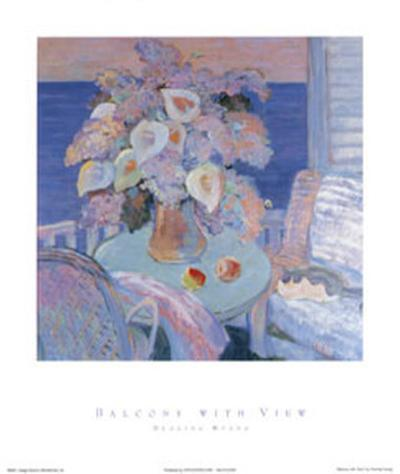 Balcony With View-Huang Duoling-Art Print