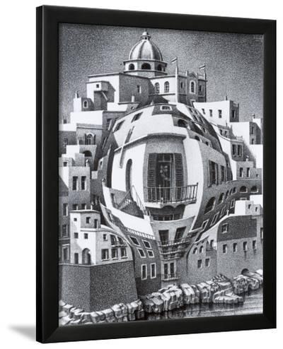 Balcony-M^ C^ Escher-Framed Art Print