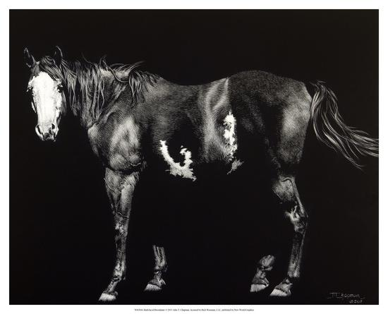 Bald-Faced Broodmare-Julie Chapman-Giclee Print