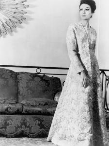 Balenciaga Lace Dress November 03, 1963