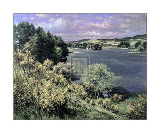 Balgavies Loch-James McIntosh Patrick-Art Print